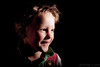 Untitled (#Weybridge Photographer) Tags: cute boy child studio portrait adobe lightroom canon eos dslr slr 5d mk ii mkii black background low key
