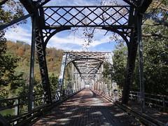 Aetnaville Bridge Wheeling, WV7 (Seth Gaines) Tags: westvirginia wheeling bridge abandoned