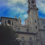 Richmond Virginia - Jefferson Hotel - Historic Facade - Tower Clock thumbnail