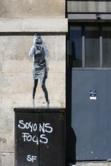 Paris paste-up (Jürgo) Tags: paris parisstreetart streetart france urbanart streetartfrance publicart paste pasteup wheatpaste poster posterart