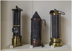 Early mIning lamps, National Museum of Scotland Edinburgh (Pitheadgear) Tags: lamp lamps minerslamp minerslampcollectors davy stephenson mining miners pitmen safetylamps gas explosions edinburgh scotland nationalmuseumofscotland