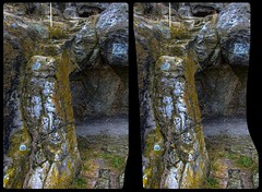 Side view of a stone arc on Castle Regenstein 3-D / CrossView / Stereoscopy / HDRaw (Stereotron) Tags: sachsenanhalt saxonyanhalt ostfalen harz mountains gebirge ostfalia hardt hart hercynia harzgau burg regenstein megalithic megalith felsenburg rockcastle elfcastle stairstonowhere prehistoric prähistorisch europe germany deutschland crosseye crossview xview pair freeview sidebyside sbs kreuzblick 3d 3dphoto 3dstereo 3rddimension spatial stereo stereo3d stereophoto stereophotography stereoscopic stereoscopy stereotron threedimensional stereoview stereophotomaker stereophotograph 3dpicture 3dimage canon eos 550d chacha singlelens kitlens 1855mm tonemapping hdr hdri raw