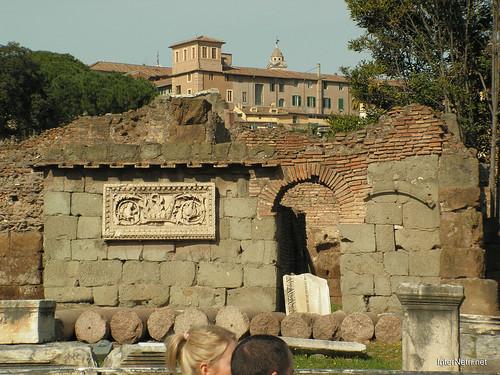 Римський форум, Рим, Італія InterNetri Italy 498