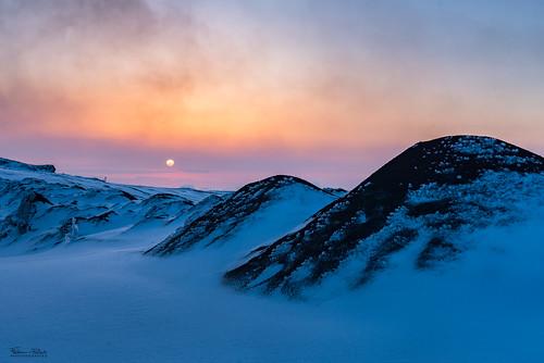 Lever de soleil sur l'Etna