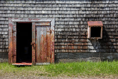 The Old Fishing Shack (Devon OpdenDries) Tags: travel maritimes grandmanan island newbrunswick nautical ocean nature scenic fishing outdoors old weathered faded building abandoned rotting decay rust wooden