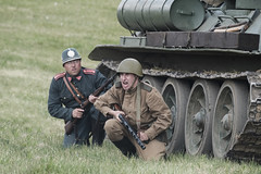 Slivice 1945 - the last battle of WW2 in Europe (The Adventurous Eye) Tags: slivice 1945 last battle ww2 europe reenactment czech military history