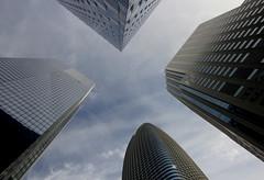 Mission & Fremont Street (martinlrosen) Tags: sanfrancisco california millenniumtower salesforcetower