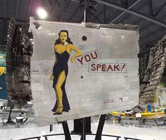 "Consolidated B-24J Liberator ""You Speak!"" (Nose Art) (Sentinel28a1) Tags: consolidated b24 b24j liberator 454thbg sangiovanni usaaf youspeak noseart worldwarii bomber aircraft"