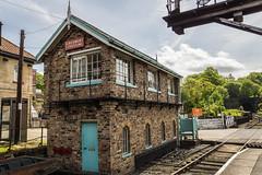 Grosmont station (Gary S Bond) Tags: north yorkshire moors railway 2018 a65 alpha grosmont heritage history nymr shabbagazmay sony station steam train trains northyorkshiremoorsrailway england unitedkingdom
