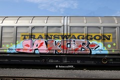 JAKOB (rebecca2909) Tags: jakob germany cologne köln agameoftones colors color graff heavymetal güterwaggon güter trains train transwaggon fr8 freight graffiti