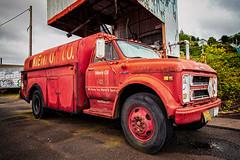 We Keep You Warm & Tankful (KPortin) Tags: astoriaoregon truck rusting htt oregon
