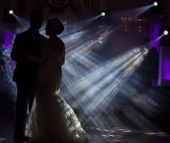 Week 24 Composition:Contrast (arlene sopranzetti) Tags: wedding silhouette portrait dance bride groom