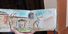 Ermita de Ntr.Sra del canto Toro/Zamora - España 🎨 (anikattel) Tags: acuarela art arte artes dibujo dibujos drawins drawing draw aquarelle wstercolor