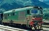 345 1084  Meran  04.06.80 (w. + h. brutzer) Tags: meran 345 eisenbahn eisenbahnen train trains italien italia dieselloks v railway lokomotive locomotive zug fs webru analog nikon