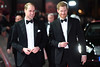 Prince William, Duke of Cambridge and Prince Harry attend the European Premiere of 'Star Wars: The Last Jedi' at Royal Albert Hall on December 12, 2017 in London, England. (Photo by Eddie Mulholland