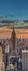(alessandrocetto) Tags: empirestatebuilding amazing building orange clouds sky sunset usa nyc holiday vacation trip travel city newyork skyscraper