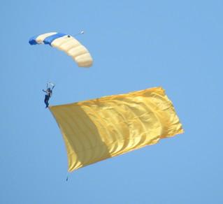 Air Force Academy para-jump training.