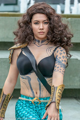 Cosplayer(s) at the 2018 Wondercon - Sunday (Alaskan Dude) Tags: travel california anaheim wondercon 2018wondercon cosplay cosplayer cosplayers people portrait costume costumes comiccons