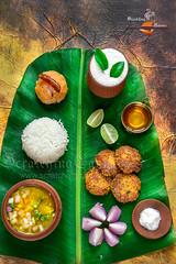 Traditional Bengali Vegetarian Spread (Rimli D) Tags: comfortfood blogger bengalifood bangladeshifood indianfood indianstaples nikkor nikon iamnikon fritters savourycake foodstyling foodphotography foodblog foodpicture foodblogger foodporn food rusticfood kolkatafood streetfood desikhana meal thali vegetarian vegan