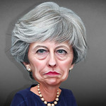 Theresa May - Caricature thumbnail