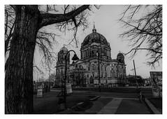 Berliner Dom (rudeskull) Tags: film analog berlin dom berlinerdom schwarzweis bw ilford fp4 noiretblanc nikonf5 kirche gdr ddr eastgermany germany deutschland