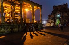 @  Brihadeeswarar Temple,Thanjavur. (Vijayaraj PS) Tags: architecture chola india asia tamilnadu unesco worldheritagesite culture choladynasty incredibleindia tamil outdoor shadows light people cholaarchitecture brihadeeswarar temple faith hinduism sunlight nandi
