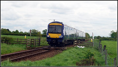 The First of the Class 170 Turbostars on the Harrogate line ( First Run) (Mark's Train pictures) Tags: hessay harrogateloop harrogatecircle class170 turbostar bombardier 170477 scotrail harrogateline northern northernrail train dieselmultipleunit singletrack