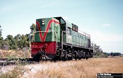 3420 A1509 Kalamunda Rd 20 January 1983 (RailWA) Tags: railwaphilmelling westrail 1983 a1509 kalamunda rd