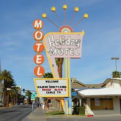 holiday motel (brown_theo) Tags: holiday motel las vegas nevada