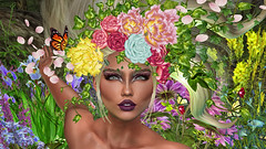 WILD SPRING (Lichy L0ve) Tags: wild sping maitreya belleza slink irrisistible venus isis hourglass decoration