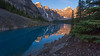 Moraine Golden Reflections (Ken Krach Photography) Tags: lakemoraine