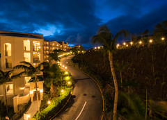 To the left (tquist24) Tags: frenchmanscove nikon nikond5300 usvirginislands virginislands bluehour clouds evening hill hotel island lights longexposure palmtree palmtrees road sky tree trees tropical vacation stthomas