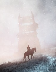Wintertide (Stachmo) Tags: wintertide witcher 3 wild hunt winter tw3 snow blizzard skellige fog reshade minimalism
