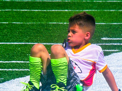 Blake Plays Football (DorothyGaleLovesMe) Tags: football footballplayer nephew family summer2017 peoplephotography boy people child childphotography sports
