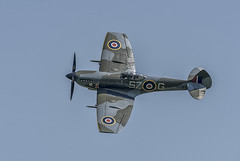 Spitfire LF Mk XVIe TE 311 (David Feuerhelm) Tags: spitfire fighter nikkor history histoic aircraft plane areoplane propellor wings guns airshow oldwarden nikon d750 200500mmf56