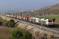 333.341+343 14 (Mariano Alvaro) Tags: 333 342 343 alstom prima renfe mercancias teco algeciras tren puerto seco coslada