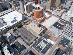 Downtown Cincinnati (Travis Estell) Tags: cbd centralbusinessdistrict cincinnati djiphantom4pro downtown downtowncincinnati ohio aerial aerialphotography drone quadcopter unitedstates us