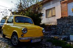 Keep it old school (Valantis Antoniades) Tags: serbia belgrade zemun classic yellow