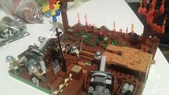 32372981_1815391025184756_9000368452854087680_n (vlad88 SW) Tags: lego moc ww1 great war romania romanian army trench artilery