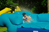 splash (The Elizabeth) Tags: summer waterslide sunshine fun motion swimming