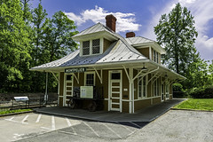 a hold-over reminder of a bad time in America (TAC.Photography) Tags: rr train traindepot depot montpelier virginia