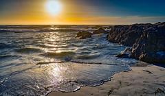 Asilomar Beach Rocks (Thanks for 1.4 million views) Tags: kando sony