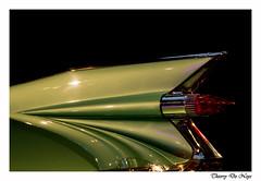 Cadillac Eldorodo Biarritz 1958 (Thierry De Neys - Photographies) Tags: thierrydeneys belgique belgium belgïe bruxelles brussel brussels autoworld cadillac eldorado 1958 biarritz vert groen green rouge red rood phare light taillight achterlicht feuarrière aile fender wrijfhout pointe pointue ligne line lijn courbe curve voiture car auto muséedelautomobile musée automobile automotive design oldtimer