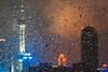 Rainy Pudong (hapePHOTOGRAPHIX) Tags: 156chi 156sha asia asien china coolpix5000 nachtaufnahme nikoncp5000 orientalpearltvtower regen shanghai shanghái wetter dsplyys hapephotographix nightphotography nightshot rain 上海 东方明珠电视塔 shanghaishi cn
