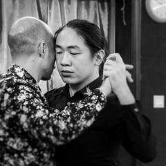Two Heads -Tango Queer- (Guangzhou, China. Gustavo Thomas © 2018) (Gustavo Thomas) Tags: heads face dance baile tango queer gay men fun freedom pride proud china chinese guangdong guangzhou blackandwhite bnw mono monochrome monocromático people vida life lgtbq