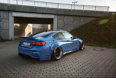 Blue monster (mateusz.jedrak1) Tags: bmw wroclaw event blue tuning