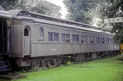 NP Coach 1923 (Chuck Zeiler) Tags: np coach 1923 railroad northlake train chuckzeiler chz passenger car clerestorycoachusstock wisconsin
