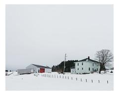 saint-sévérin (Mériol Lehmann) Tags: barn beauce house winter farm rural quebec landscape canada saintséverin québec ca