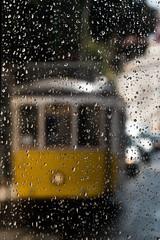 Tram 28 (tomaszbaranowski007) Tags: rain tram lissabon portugal flickrunitedaward