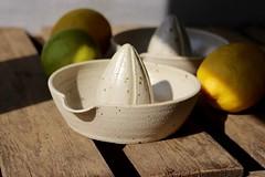 Fruit Juicer, Lemon Squeezer (Jude Allman) Tags: ceramics ceramic craft crafts clay bowl bowls jude allman juicer juicers squeezer squeezers lemon fruit